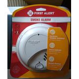 Detector De Humo Y Calor Con Alarma Y Bateria Incorporada