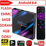Tv Box H96  Android 9.0 4g X 64gb Chromecast Smart Tv