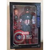 Figura Captain America Marvel Legends Series / 12 Pulgadas