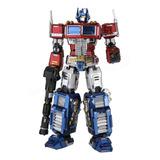 Mu Diy Optimus Prime De Transformers Montado Modelo 3d De Ac