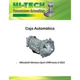 Caja Automatica Mitsubishi Montero Sport