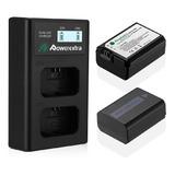 Kit Baterias Y Cargador Camaras Sony Np-fw50 Profesionales