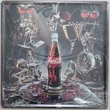Placas Metal Colección Vocho Vespa Coca Cola Route66 Harley