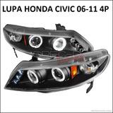 Focos Lupas Honda Civic 06 - 11 4p, Jdm Oferta