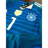 Camiseta De Futbol De Portero De Alemania