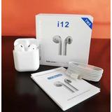 Audífonos Inalámbricos I12 Bluetooth Tacto !!tienda Física!!