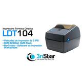 Impresora De Etiquetas 3nstar Ldt104 Termica Icb Technologie