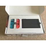 Nintendo Switch 32gb Hogar Consola-neón Rojo/azul