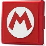 Estuche Para Juegos Premium Game Card Case Mario Nintendo Sw