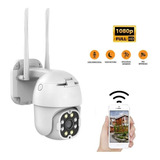 Cámara Seguridad Ip Exterior Wifi 1080p Camhi Domo Ptz 360