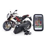 Base Holder Estuche Impermeable Para Moto / Bici