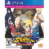 Naruto Shippuden Ultimate Ninja Storm 4 Road To Boruto Ps4