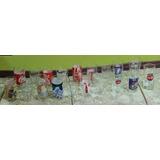 Colección De 19 Vasos De Coca Cola, 2 De Fanta Y 1 De Pepsi