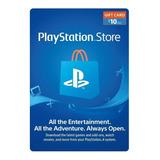 Psn Playstation Store $10 - Ps3 | Ps4 | Ps Vita - Usa