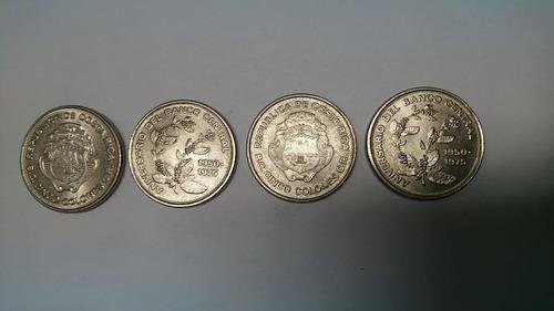 Monedas Cinco Colones ¨¨aniversario Banco Central¨¨. Vhcf
