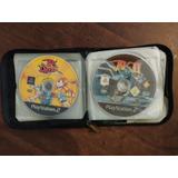 24 Videojuegos Dvd's Para Ps2 + Estuche Portadiscos