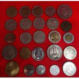 Colección De 25 Monedas Internacionales Jmg