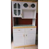 Elegante Mueble De Cocina  Trastero