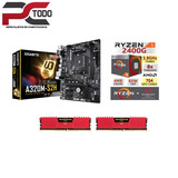Kit De Actualización Ryzen 5 2400g, Ram 8gb Ddr4,