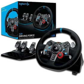 Logitech G29 Driving Force Racing Wheel For Ps4 / Pc + Logit