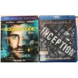 Lote 2 Películas En Bluray Originales (no 4k) Nuevas
