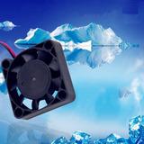 Ventilador 12v Dc 4cm 2 Pin Abanico Encubadora Refrigeración