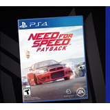 Need For Speed Payback Original Para Ps4