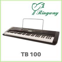 Teclado De 5 Octavas C/ Sensibilidad Modelo Tb100 Ringway