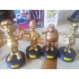 Figuras Oscar De Los Simpson 4 Unidades