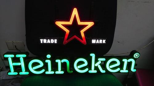 Rotulo Luminoso Heineken, Led. Vhcf
