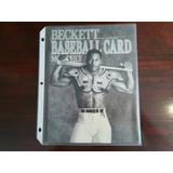 1990 - 91 Revista Beckett Baseball Cards
