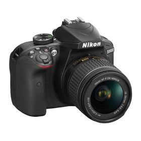 Nikon D3400 24.2mp Cmos, Con Lente 18-55mm  Vr.  R Y M