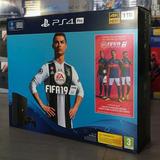 Sony Playstation 4 Ps4 Pro 1tb 4k Hdr Consola Y Fifa 19