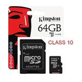 Memoria Micro Sdxc 64gb Kingston Class 10 3,0 Icbtech