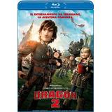 Como Entrenar A Tu Dragon 2 Blu Ray