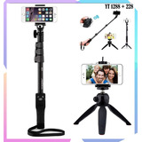 Yt-1288 Selfie Palo Yunteng 1288 Trípode Monopod Bluetooth
