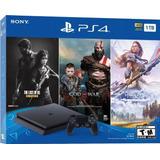 Playstation 4 Slim 1tb + 3 Juegos + Somos Tienda