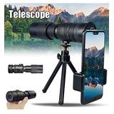 Monocular Telescopio (nuevo), Trípode Con Kit Para Celular
