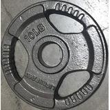 Disco De Pesa De 10 Libras Olímpico Unidad
