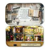 Cuteroom Old Times Diy Box Theater Dollhouse Miniatura Luz L