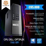 Computadora Dell Optiplex 7010/ Core I5 3570 / 4gb Ram