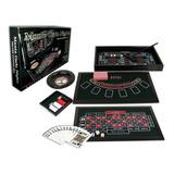 Juego Casino Deluxe 4 En 1. Madera