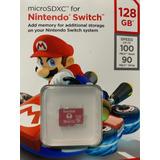 Memoria Sandisk Micro Sd 128 Gb Licenciada Nintendo