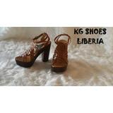 Sandalias Zapatos Altos Para Mujer Guanacaste