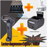 Combo Factura Electronica Impr 80mm+cajon+lector Usb
