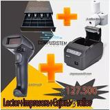 Combo Impresora+cajon+lector Usb+3 Rollos 80mm