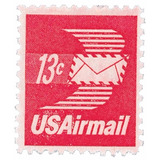 Us Sc #c79 - 1973 13c Winged Letter Sheet Sin Con Matasello.
