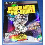 Nuevo Sellado Borderlands The Pre-sequel Original Ps3