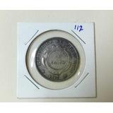 Moneda Antigua De Costa Rica 1917 Resello A 1 Colón Jmg