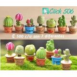 Figuras Terrarios/mini Jardines P/suculentas Cactus Click506